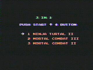 Mortal Kombat for 8-bit NES/Famicom